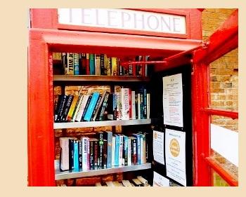 Английская телефонная будка своими руками