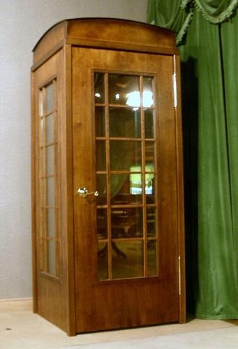 Дверь как телефонная будка английская своими руками